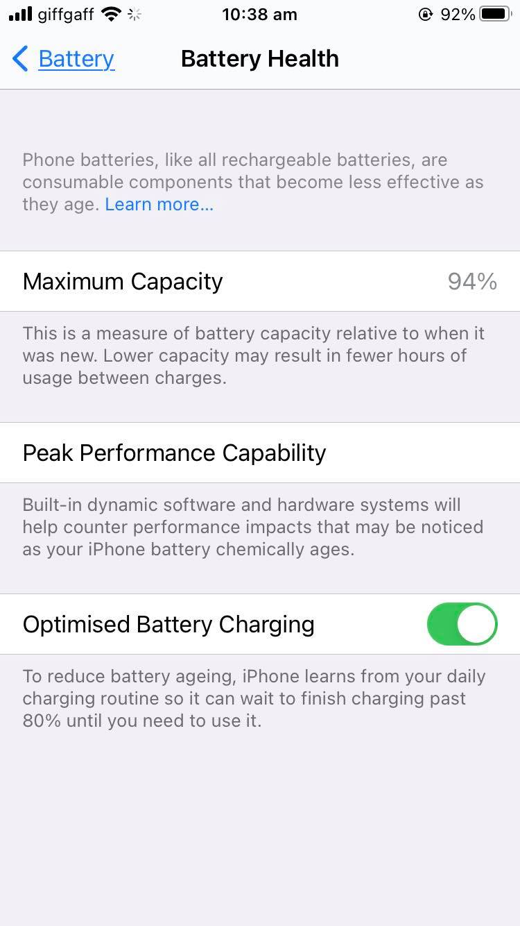 What is draining my iPhone battery